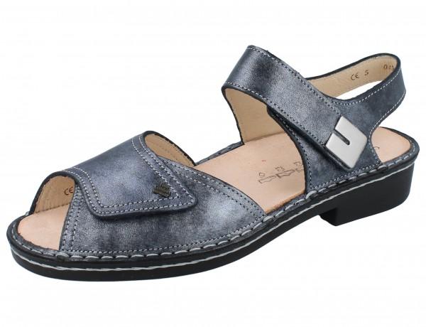 FINN COMFORT Luxor Damen Sandale blau blue/Fowler