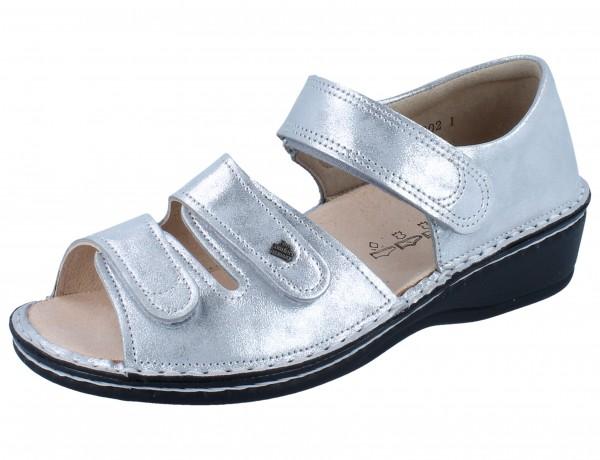 FINN COMFORT Usedom Damen Sandale argento/Slide