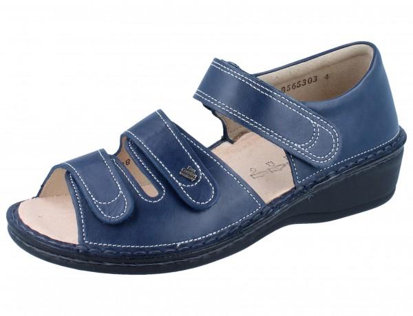 FINN COMFORT Usedom Damen Sandale blau atlantic/Nube