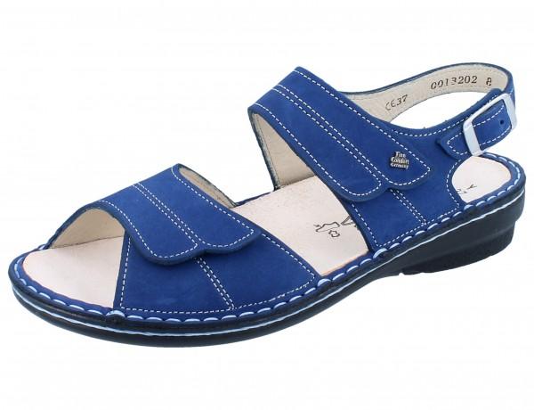 FINN COMFORT Barca Damen Sandale blau kobalt/Nubuk