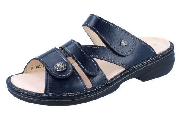 FINN COMFORT Ventura Soft Damen Pantoletten blau ozean/Light
