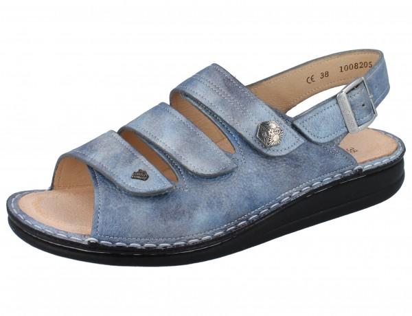 FINN COMFORT Juist-Soft Damen Sandalen blau jeans/Alfa