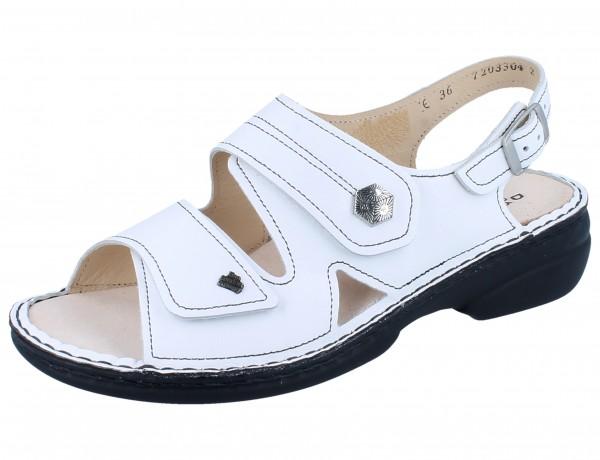 FINN COMFORT Milos Damen Sandale weiss/Nappa