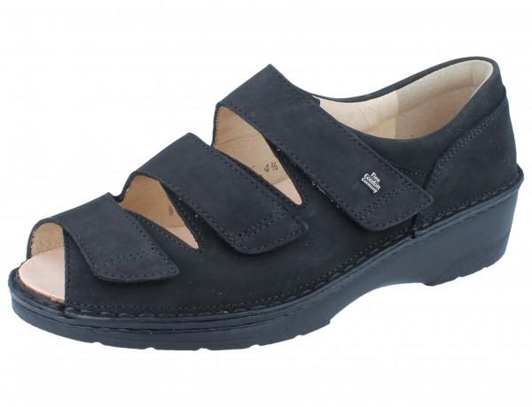FINN COMFORT Ischia Damen Sandale schwarz/Buggy