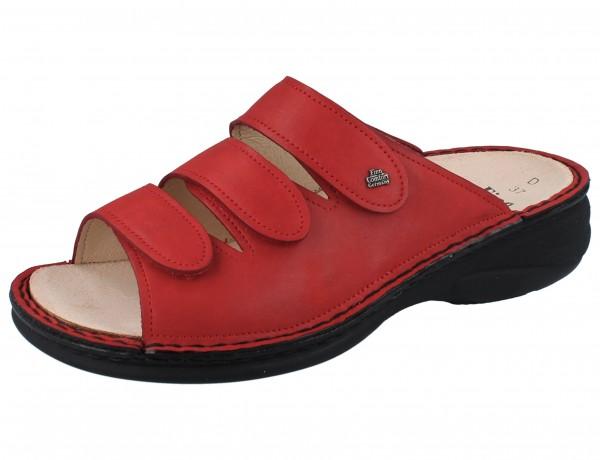 FINN COMFORT Hellas Damen Pantolette rot red/Kennedy