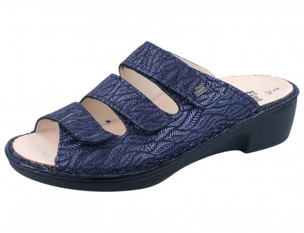 FINN COMFORT Canzo Damen Pantolette blau blue/Fall