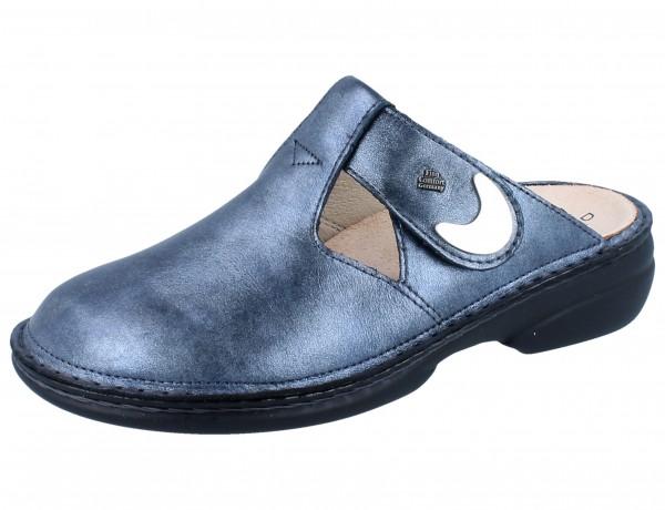 FINN COMFORT Belem Damen Clogs blau blue/Fowler