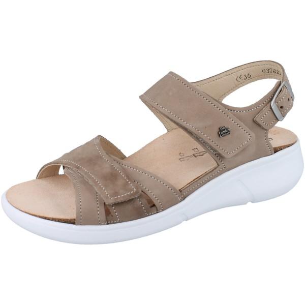 FINN COMFORT Nadi Damen Sandale beige Nubuk/Kennedy