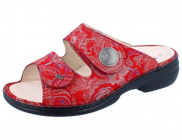 FINN COMFORT Sansibar Damen Pantolette rot pomodore/Shibu