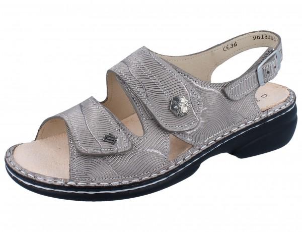 FINN COMFORT Milos Damen Sandale beige sand/Storm