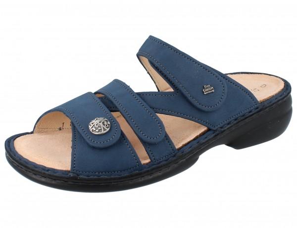 FINN COMFORT Ventura Soft Damen Pantolette blau horizon/NubukVienna