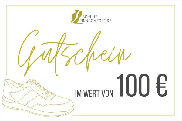 Geschenkgutschein im Wert von 100 €