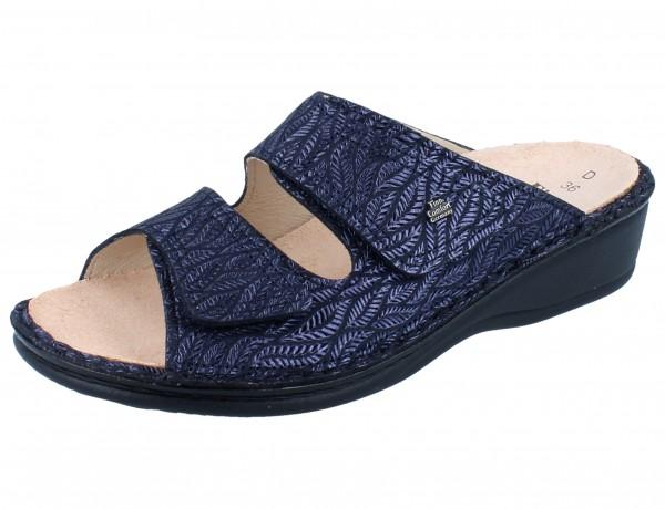 FINN COMFORT Jamaika Damen Pantolette blau blue/Fall