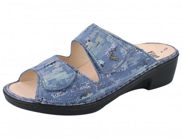 FINN COMFORT Gela Damen Pantolette blau seablue/Tayfun