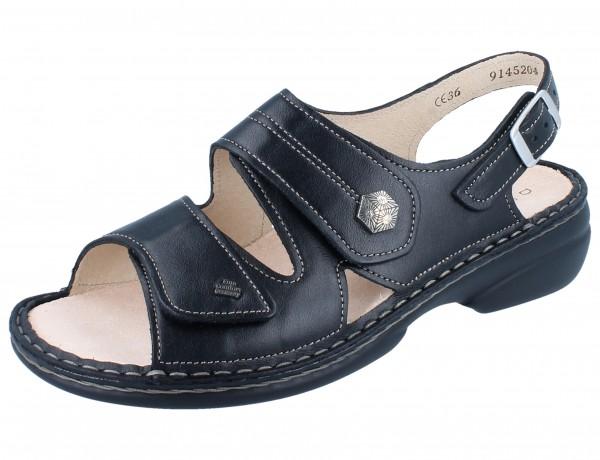 FINN COMFORT Milos Damen Sandale schwarz/NappaSeda
