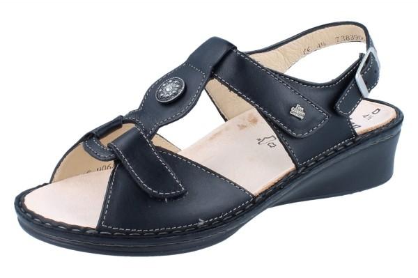 FINN COMFORT Adana Damen Sandale schwarz/NappaSeda