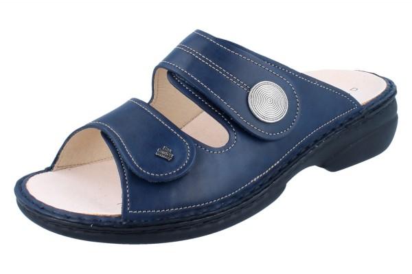 FINN COMFORT Sansibar Damen Pantolette blau/Missouri