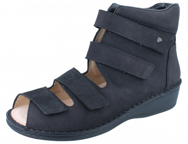 FINN COMFORT 96402 PROPHYLAXE Damen Sandale schwarz/Buggy
