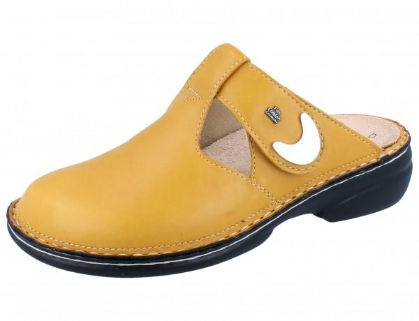 FINN COMFORT Belem Damen Clogs gelb sole/Savanna