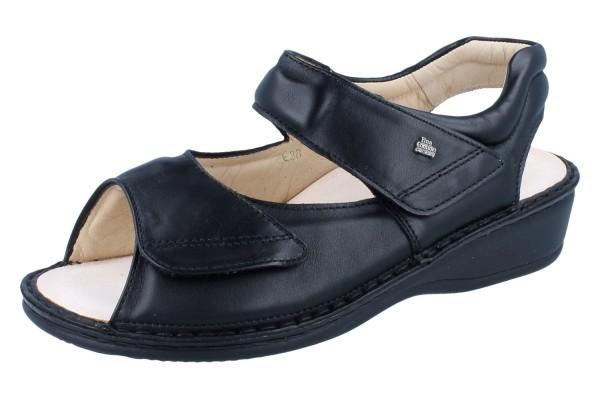 FINN COMFORT 96401 PROPHYLAXE Damen Sandale schwarz/NappaSeda