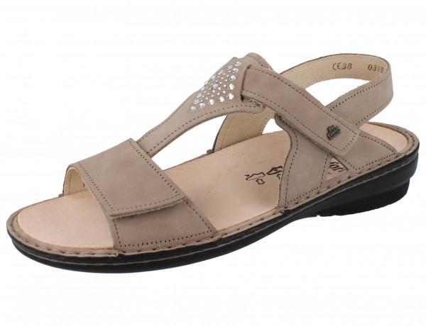FINN COMFORT Calvia Damen Sandale beige/Nubuk