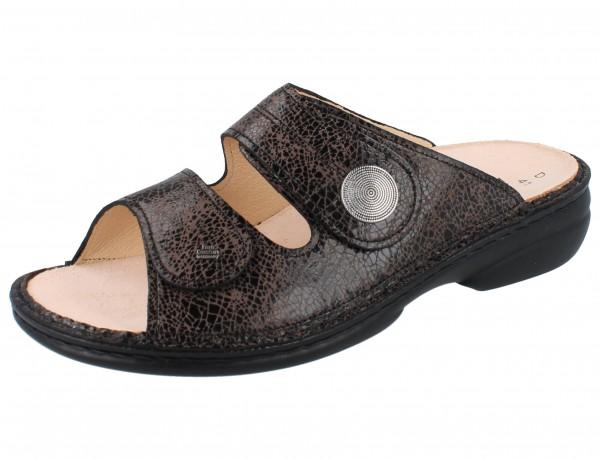 FINN COMFORT Sansibar Damen Pantolette braun carbon/Break