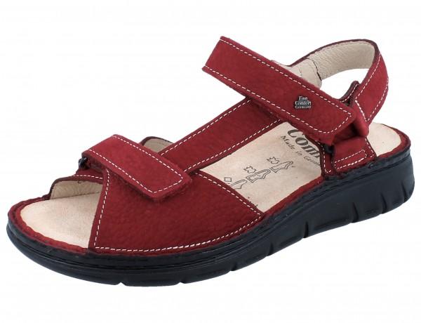 FINN COMFORT Vinales Soft Damen Sandale rot brick/Tango