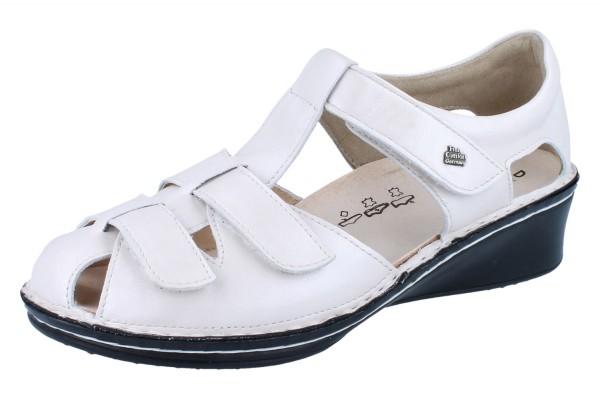 FINN COMFORT Fünen Damen Sandale silber/Luxory
