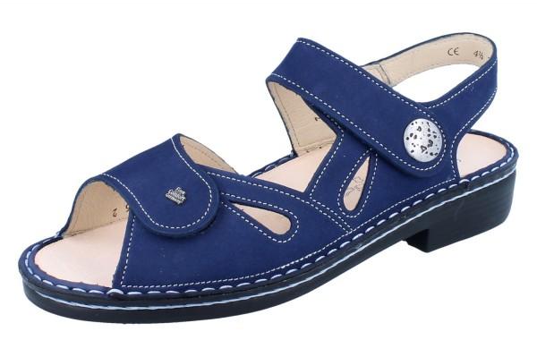 FINN COMFORT Costa Damen Sandale blau atoll/Nubuk