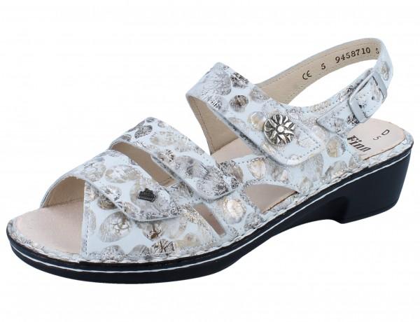 FINN COMFORT Aversa Damen Sandale grau stone/Pebble