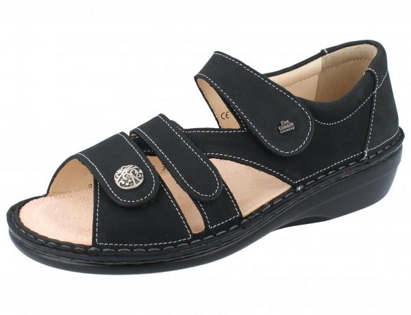 FINN COMFORT Sintra-Soft Damen Sandale grau anthracite/Nubuk