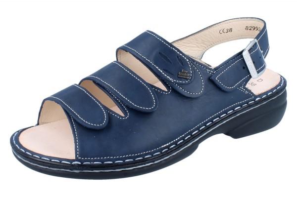 FINN COMFORT Saloniki Damen Sandale blau bluette/Mozart