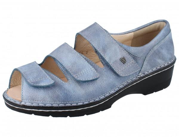 FINN COMFORT Ischia Damen Sandale blau jeans/Alfa