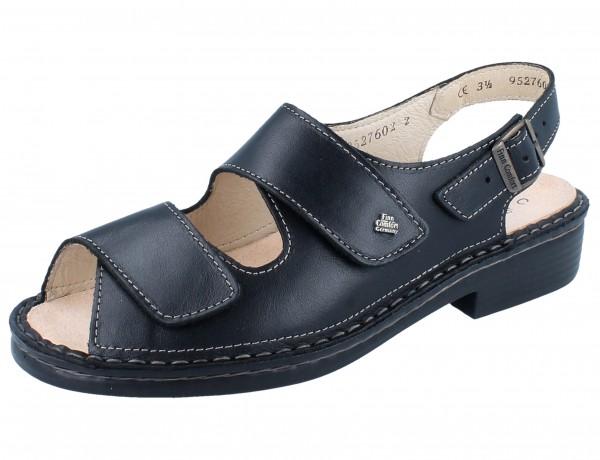 FINN COMFORT Tahiti Damen Sandale schwarz/NappaSeda