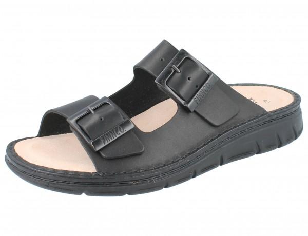 FINN COMFORT Cayman Soft Herren Pantolette schwarz black/Western