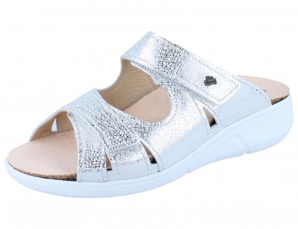 FINN COMFORT Palau Damen Pantolette argento/Spider