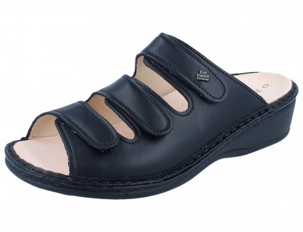 FINN COMFORT Pisa Damen Pantolette schwarz/NappaSeda