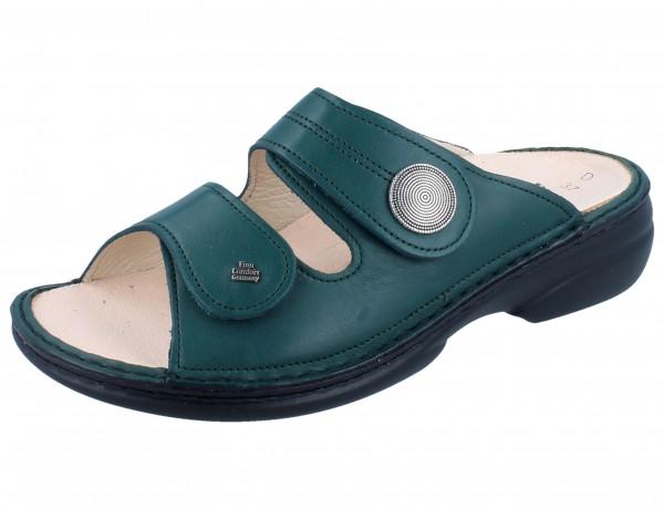 FINN COMFORT Sansibar Damen Pantolette grün smerado/Savanna