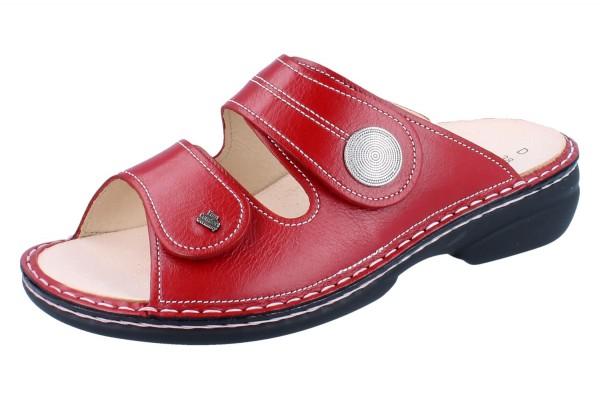 FINN COMFORT Sansibar Damen Pantolette rot red/Venezia