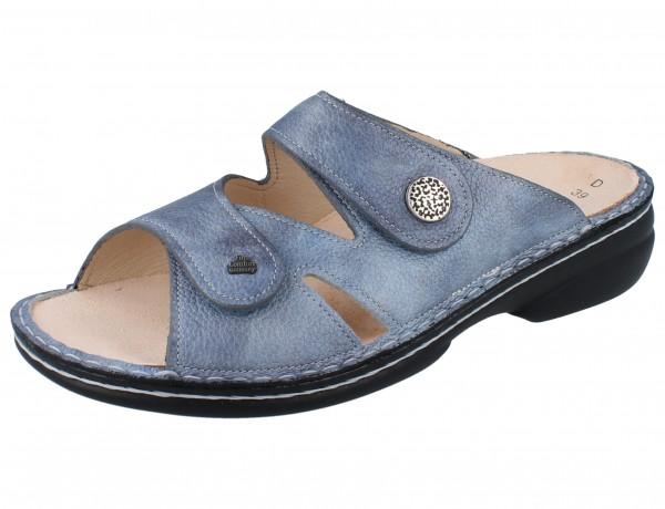 FINN COMFORT Torbole Damen Pantolette blau jeans/Alfa