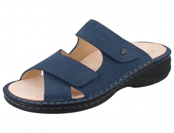 FINN COMFORT Melrose Damen Pantolette blau horizon/NubukVienna