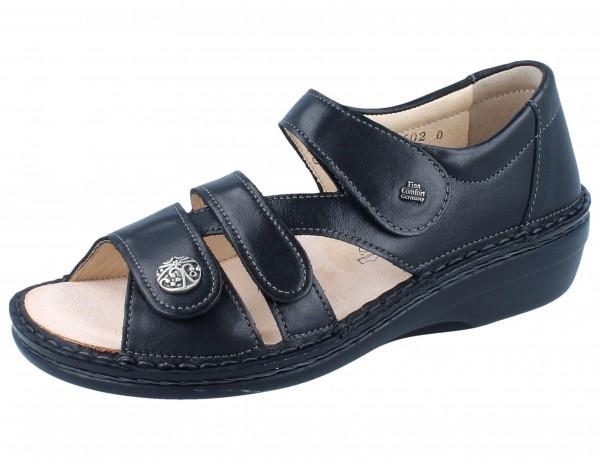 FINN COMFORT Sintra-Soft Damen Sandale schwarz/NappaSeda
