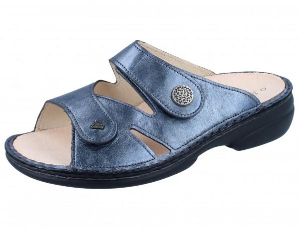 FINN COMFORT Torbole Damen Pantolette blau blue/Fowler