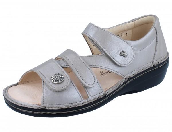 FINN COMFORT Sintra-Soft Damen Sandale beige taupe/Luxperl