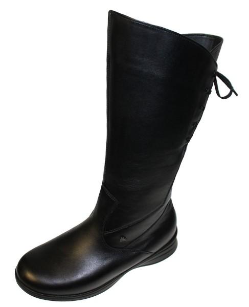 FINN COMFORT Sestriere Damen Stiefel schwarz/SoftNappa