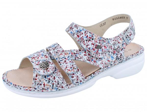 FINN COMFORT Gomera Damen Sandale mehrfarbig multi/Braid