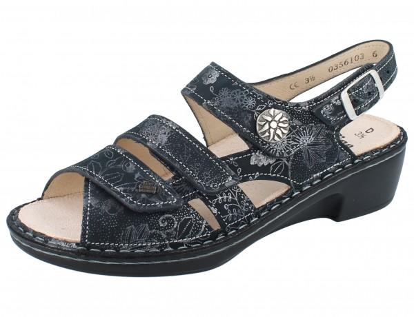 FINN COMFORT Aversa Damen Sandale grau anthracite/Jardin