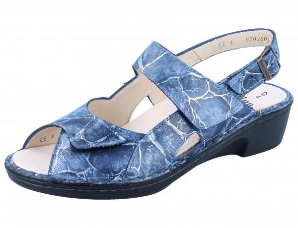 FINN COMFORT Tavira Damen Sandale blau lazip/Rocas