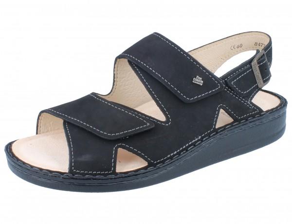FINN COMFORT Toro Soft Herren Sandale schwarz/Cherokee