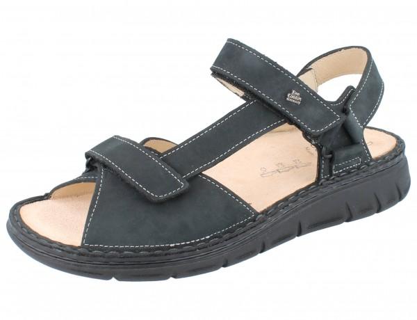 FINN COMFORT Vinales Soft Damen Sandale grau anthracite/Nubuk